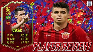 86 RECORD BREAKER OSCAR PLAYER REVIEW - FIFA 21 ULTIMATE TEAM