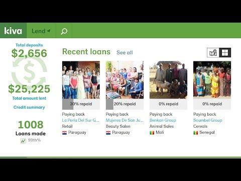 Kiva Charity | $25000 Milestone | Micro-Loans