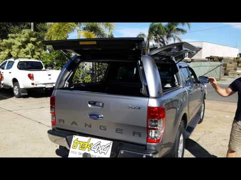 TREK4x4 - Information Video Workstyle Canopy on PX 2 Ranger