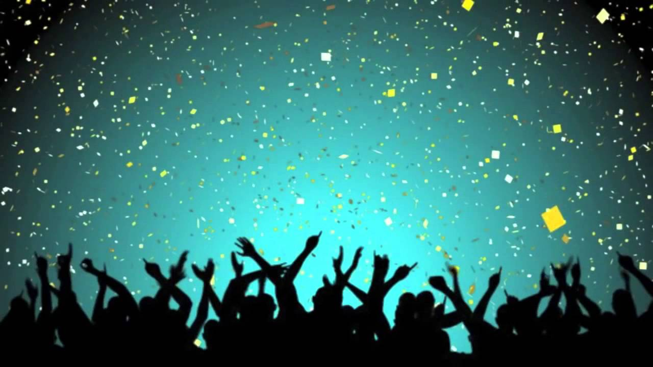 video backgrounds hd new years party with confetti free video intro video loop