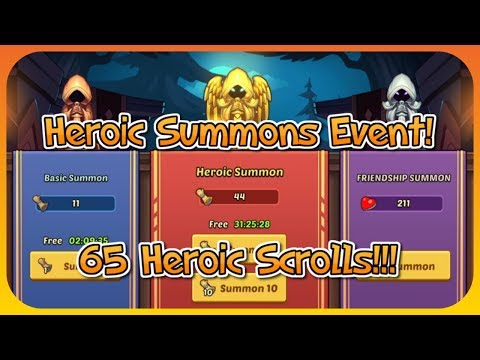 Idle Heroes - Summon Event! Road To Sigmund! - YouTube