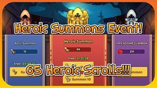 Idle Heroes - Summon Event! Road To Sigmund!