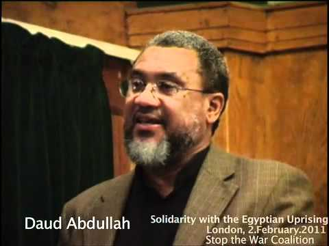 Daud Abdullah, Solidarity with the Egyptian Uprising