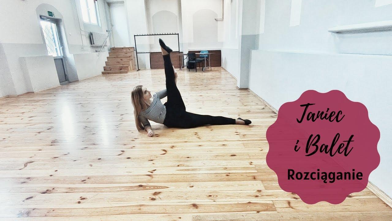 Taniec i balet dla dzieci Lublin - Rozciąganie