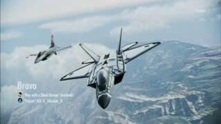 Area B7R Dogfight Battle | F-22 -FLASH- | S Rank | Ace Combat Infinity Co-Op