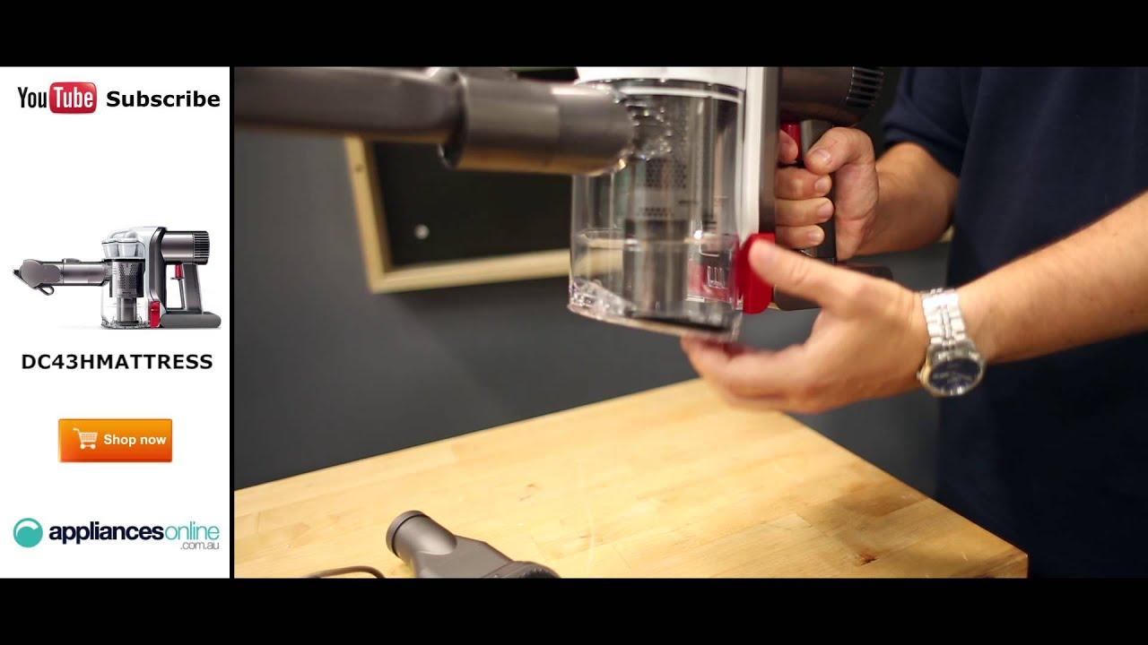 dyson handheld mattress vacuum cleaner reviewed by expert appliances online - Dyson Handheld Vacuum
