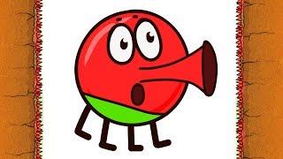 КРАСНЫЙ ШАР против ЧЕРНОГО ШАРА #4 Похищение Любимой Мультик про Red Ball 4