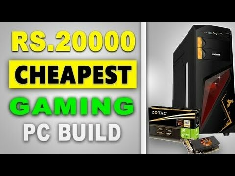 Cheapest 20,000 gaming [ PC BUILD INDIA 2017 ] | WHAT IS APU | Guide For First time PC build
