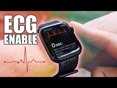 How To Enable, Set Up ECG - Series 4 Apple Watch