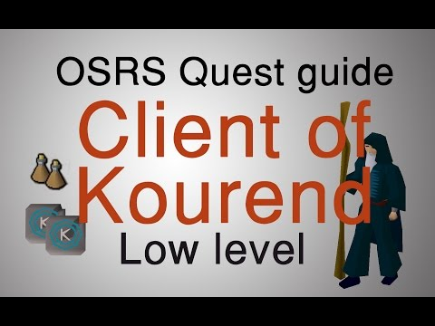 [OSRS] Client of Kourend quest guide (Running)