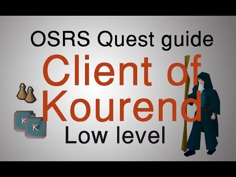 [OSRS] Client of Kourend quest guide (Running)