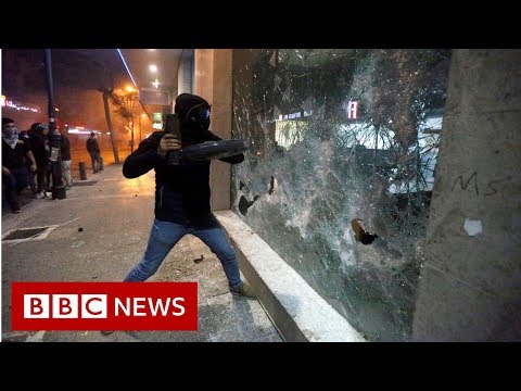 Lebanon protesters hit banks in 'week of wrath' - BBC News