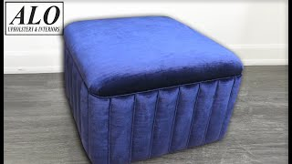 HOW TO UPHOLSTER A CHANNEL BENCH - ALO Upholstery
