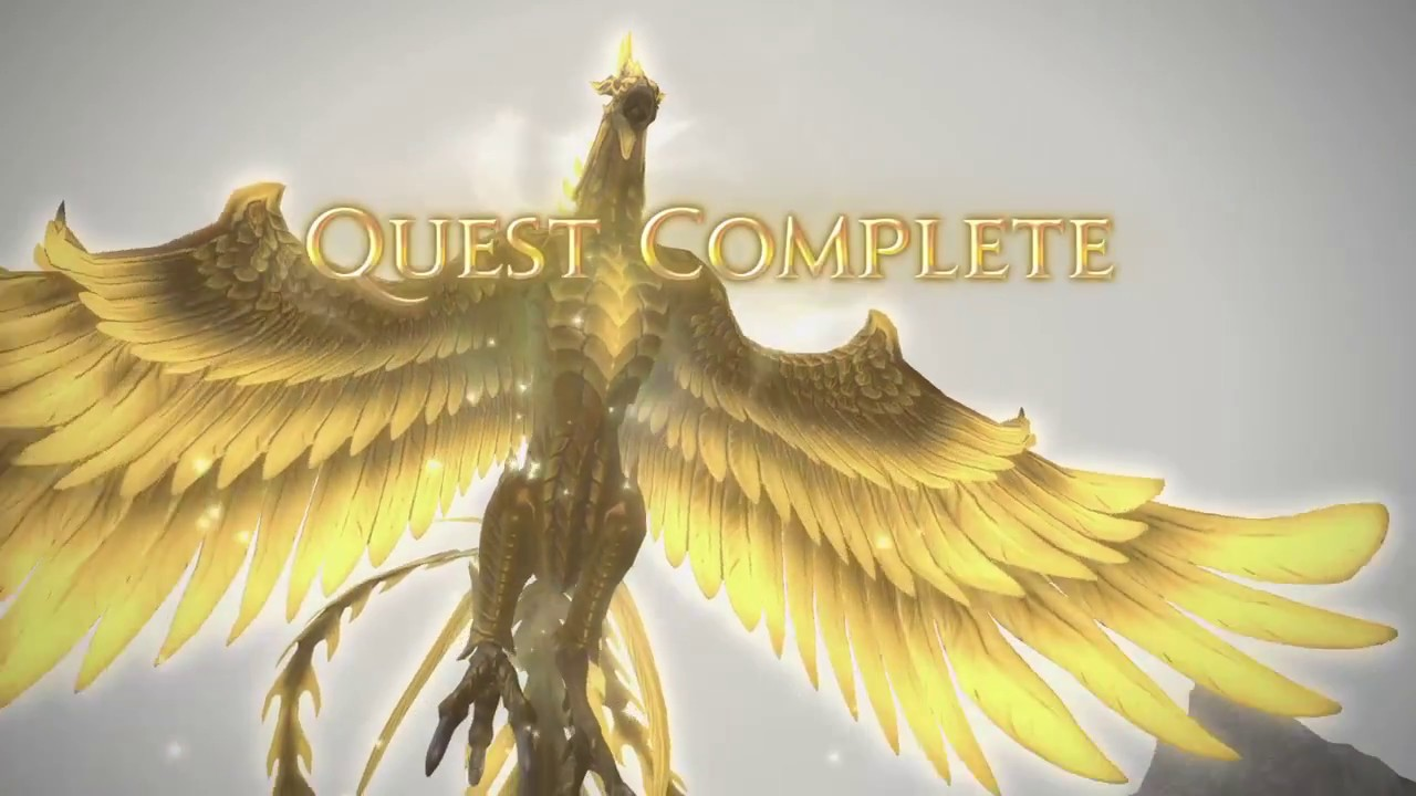 Final Fantasy XIV: Heavensward: Firebird Mount Quest