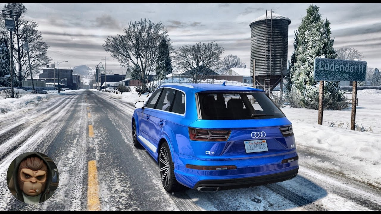 Audi Q7 >> GTA 6 Graphics - NaturalVision 2.0 - Audi Q7! Realistic Graphic ENB MOD PC - 1080p 60 FPS! - YouTube