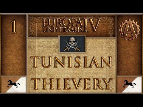 Europa Universalis IV Let's Play Tunisian Thievery 1