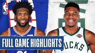 76ERS at BUCKS | FULL GAME HIGHLIGHTS | February 22, 2020