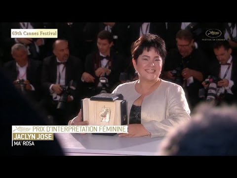 69th Cannes Festival 2016 - Jaclyn Jose wins best actress award fro Ma' Rosa
