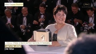69th Cannes Festival 2016 - Jaclyn Jose wins best actress award fro Ma