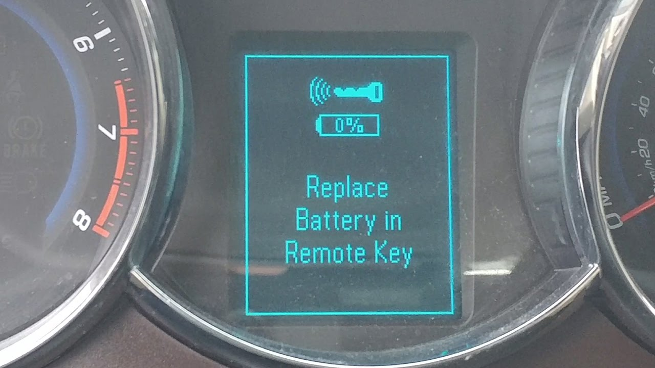 How To Replace Battery In Chevy Cruze Key Fob Remote 2011 2016