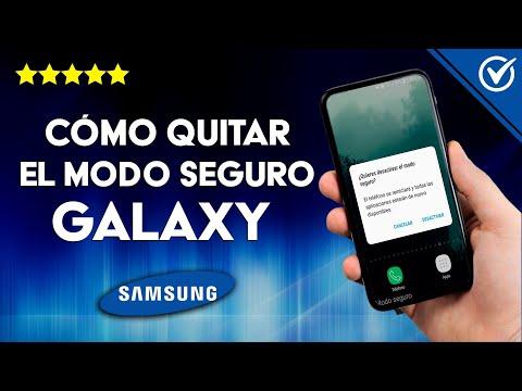Cómo Quitar o Inhabilitar en los Samsung Galaxy el modo Seguro