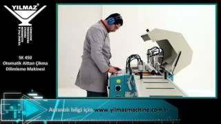 Yılmaz Makine | SK 450 - Otomatik Alttan Çıkma Dilimleme Makinesi (Servo Kontrollü)
