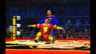 West Coast Caws WWE 12 Captain Marvel vs Superman
