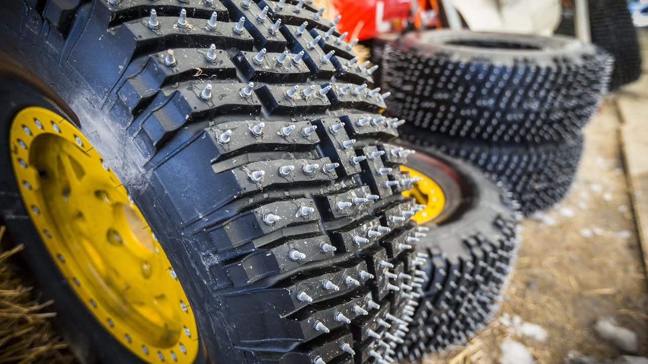 Spiked Snow Tires Steroids