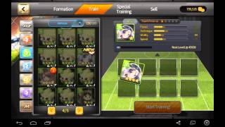 Soccer Spirits - my first (65) draw(s) in 2nd season.