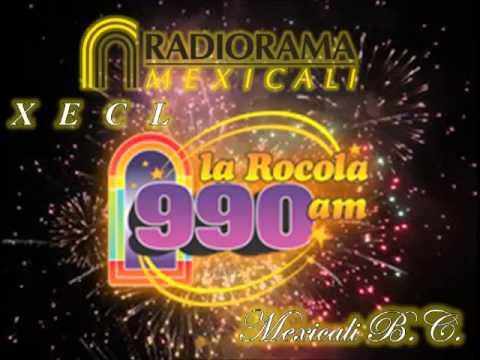 XECL La Rocola 990am Mexicali B.C. Spots + ID