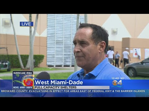Miami-Dade Comm. Joe Martinez On Shelter Shortage