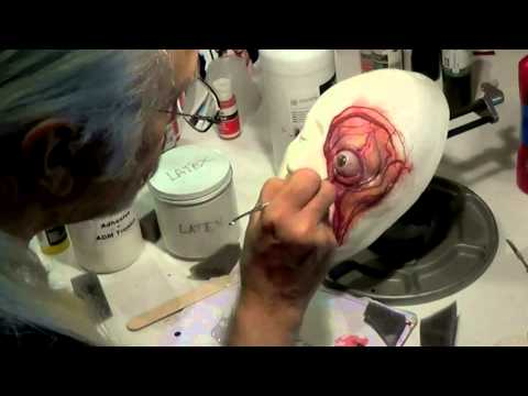 "How to ""Build Up"" a Rubber Prosthetic. Miss Shock"