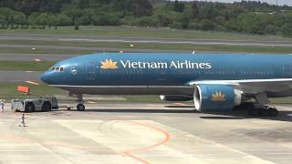 my bay boeing 777 của vietnam airlines cất cnh