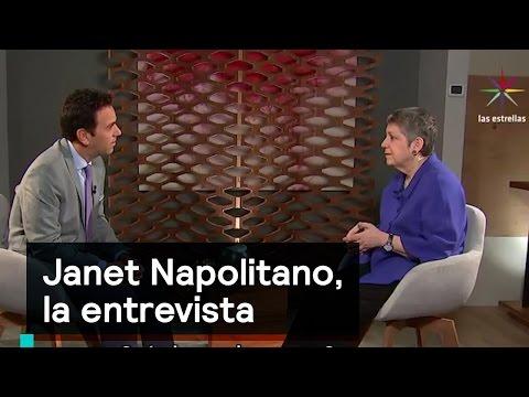 Janet Napolitano habla en Despierta sobre gobierno de Trump - Despierta con Loret