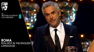 Roma Wins Film Not in the English Language | EE BAFTA Film Awards 2019