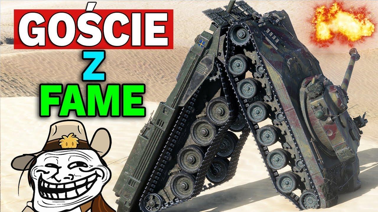 GOŚCIE z FAME – Polska Bitwa – World of Tanks