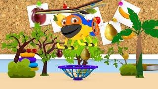 Уроки з Винтиком 3D Фрукти - Ягоди - Овочі- мультфільми українською 04