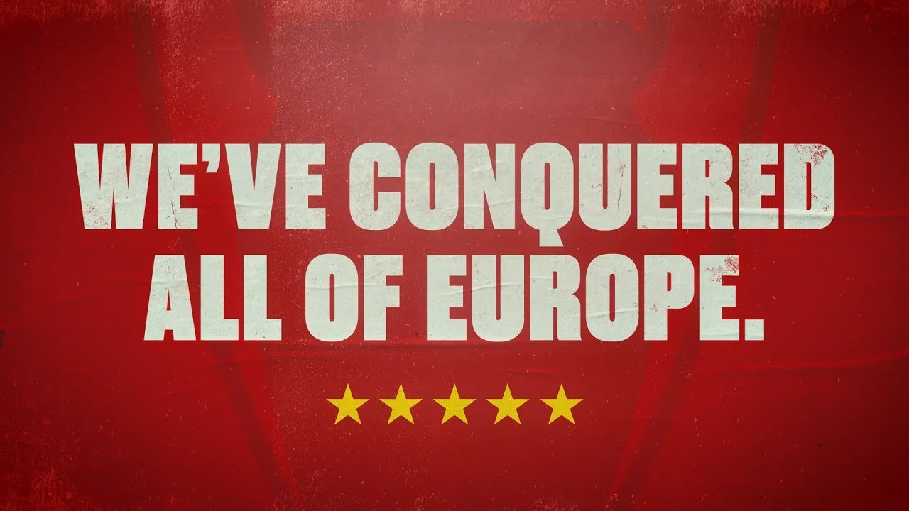 We Ve Conquered All Of Europe Brilliant Animation Of The Reds European Cup Wins