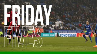 Friday Fives: Leicester City Free-Kicks | 2019/20