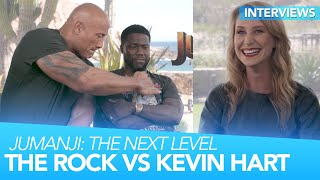 The Rock and Kevin Hart BLAST Each Other | Jumanji: The Next Level