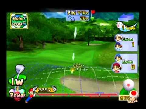 Donkey Kong Mario Golf Toadstool Tour Animations