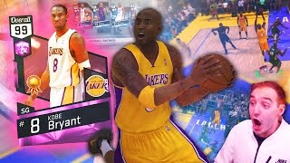NBA 2K17 My Team PINK DIAMOND KOBE CANT BE STOPPED! GOING ALL THE WAY OFF!