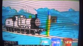 Painting James - Thomas and Friends US