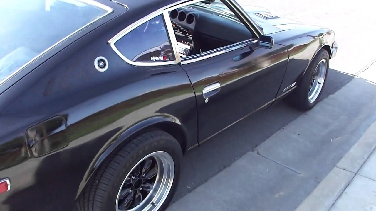 1978 datsun 280z youtube