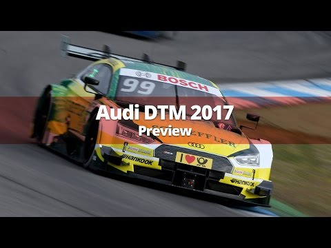 Audi DTM 2017 Preview - 2017 Audi RS5 DTM Models