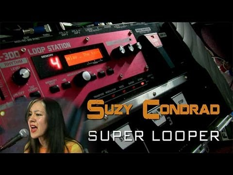 Looper Artist Suzy Condrad - Interview And Performance