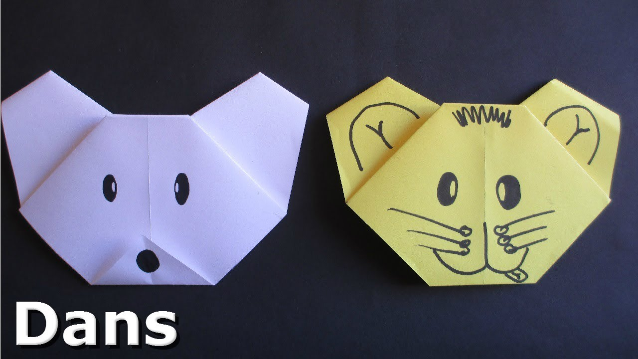 Origami Animals Instructions