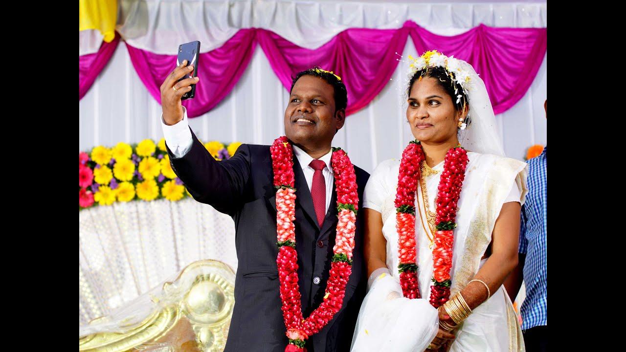 telugu christian wedding highlights sudhakar florence