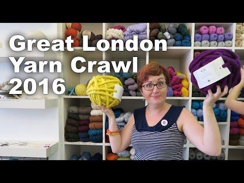 Great London Yarn Crawl 2016 [Ep. 31, Along The Lanes]