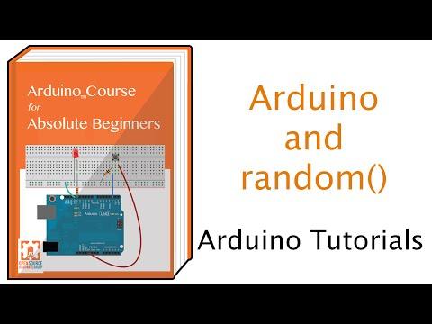 Using random numbers with Arduino
